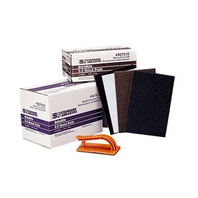 6X9 BROWN HEAVY DUTY HAND PAD 20/BOX